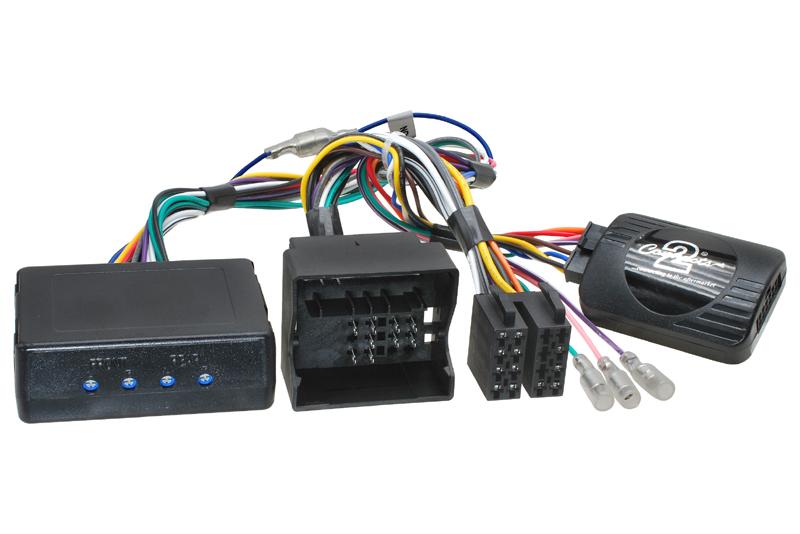 Adaptér ovládania autorádia na volante AUDI A2 / A3 / A4 / TT  s aktivnym audio systémom