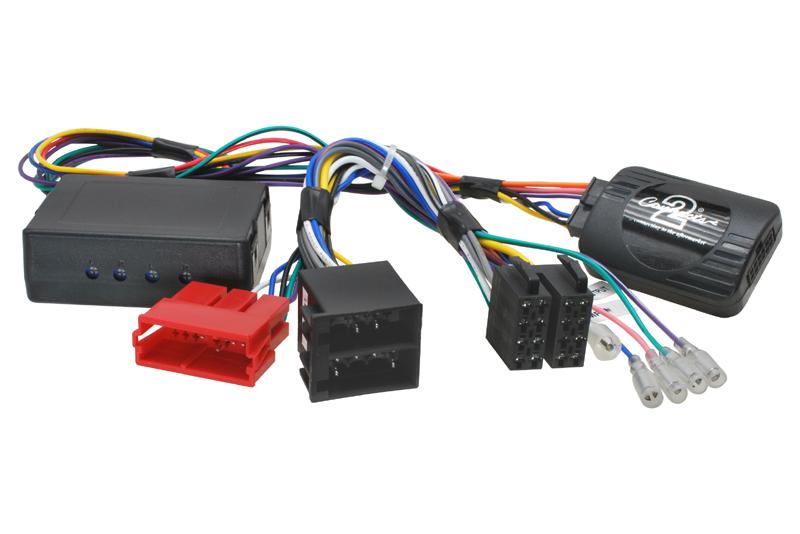 Adaptér ovládania autorádia na volante AUDI  A3 / A4 / TT  s aktivnym audio systémom, ISO konektor