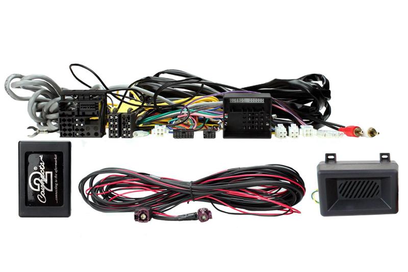 Adaptér ovládania autorádia na volante - BMW 1 / 2 / 3 / 4 s akt.audio systémom