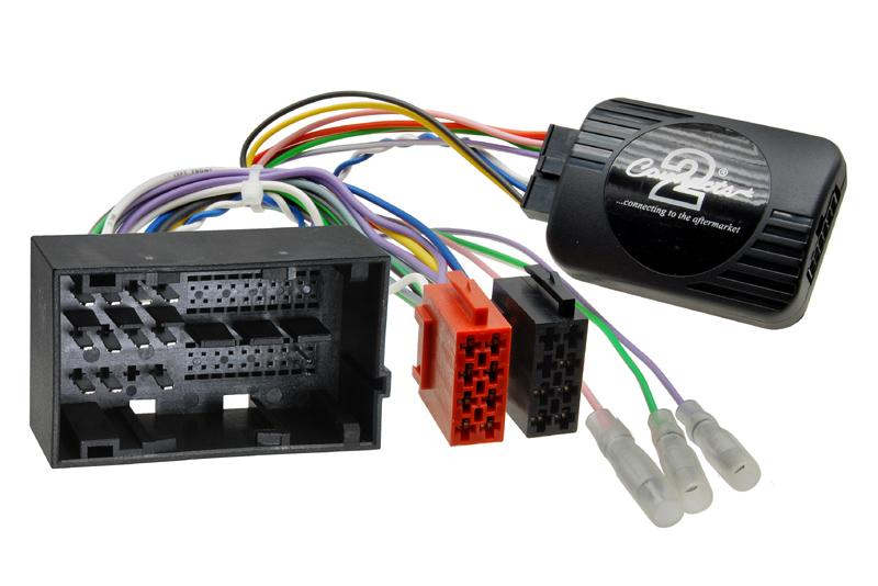 Adaptér ovládania autorádia na volante - Fiat Ducato / Citroen Jumper / Peugeot Boxer (2014->) s OEM rádiom