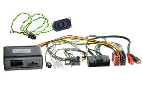 Adaptér ovládania autorádia na volante-FORD Focus (11->), FORD C-max (10->) - ve¾ký display
