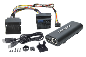 Adapt�r Lite 3BT - vstup pre iPod-USB-AUX-Bluetooth pre BMW new