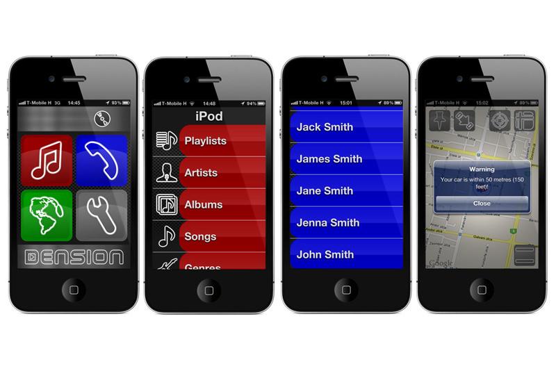 Aktívny držiak pre iPhone