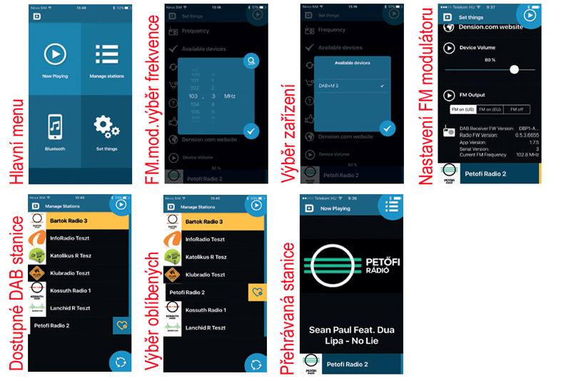Dension DAB+M digitálny radiový prijímaè