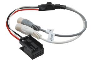 AUX vstup pre autorádiá BMW nový konektor