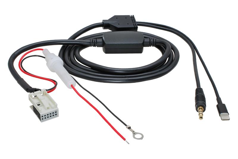 AUX a Apple Lightning adapt�r VW / Seat / �koda