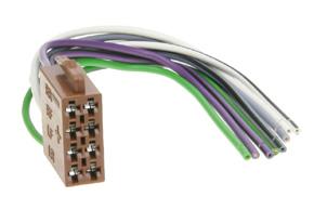 ISO konektor auto - reproduktorová  èas�