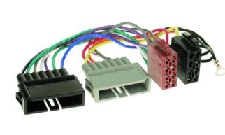 ISO redukcia pre montáž autorádia - CHRYSLER / JEEP / Dodge , staršie modely