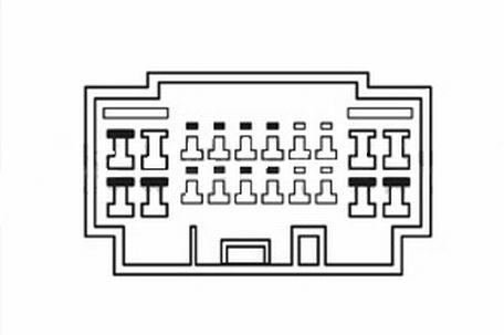 252 119: ISO redukcia pre montáž autorádia - HONDA /SUZUKI / FIAT / ACURA