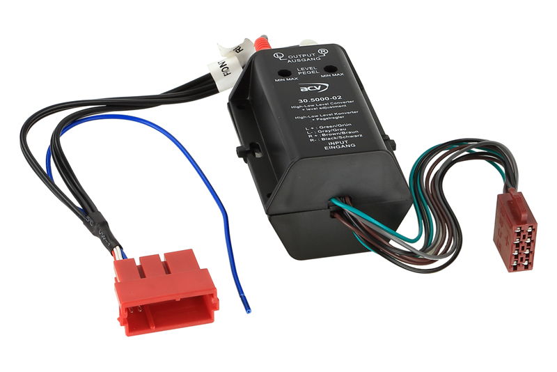 Adaptér pre aktívny audio systém - AUDI A3,4,6,8,TT