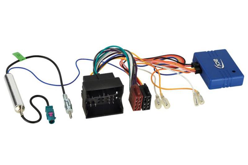 CAN-Bus adaptér ISO - FAKRA pre autorádia  AUDI /VW / SEAT / ŠKODA nový konektor
