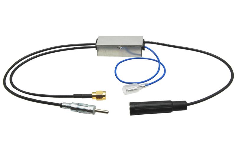 DAB-DAB+ / AM-FM rozboèovaè signálu DIN konektor