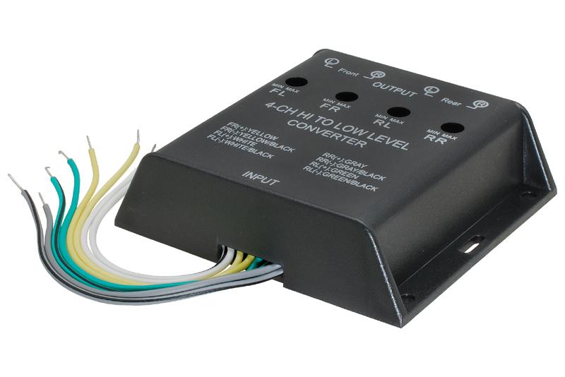 4-kanálový prevodník signálu Hi-Lo adaptér