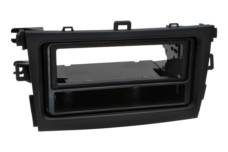 Plastový rámik autorádia TOYOTA Corolla (09-13) - èierna farba