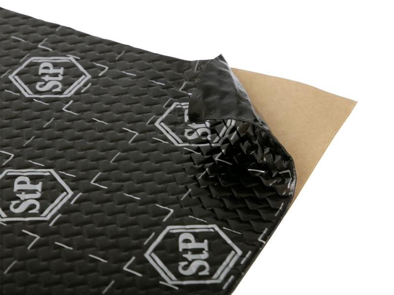 STP Black Silver - Door pack antivibra�n� a tlmiaci materi�l