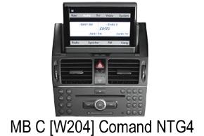222 678: Aktivátor vstupu parkovacej kamery pre MB s COMAND NTG4