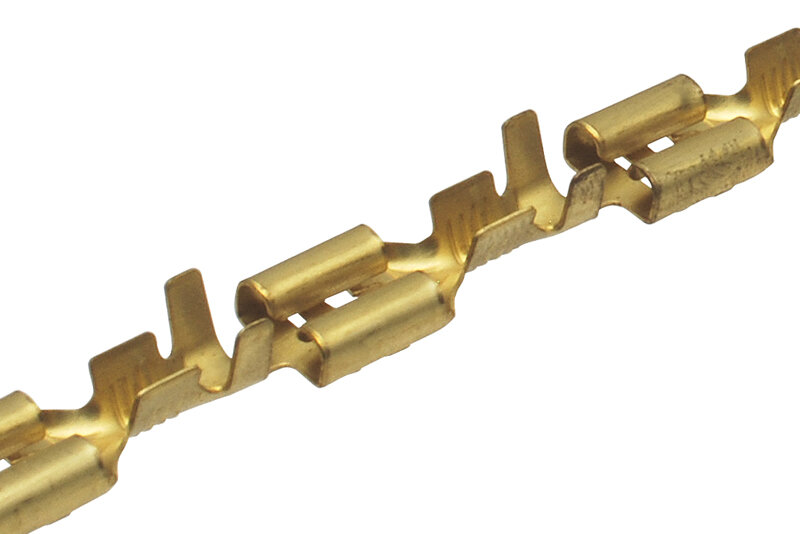 Konektor dutinka 6,3 mm - 5000 ks rolka