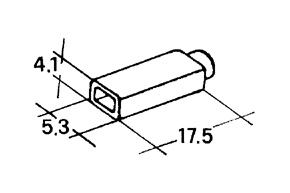 Kryt dutinky 2,8 mm