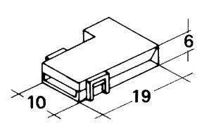 Kryt dutinky 6,3 mm