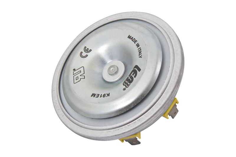 Elektronický diskový klaksón K91EM-H - 12V