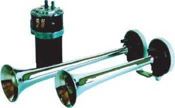 LEB pneumatický klaksón s kompresorom VK2 - 24V