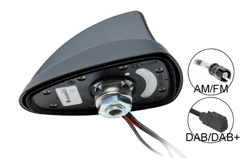 SHARK 2  AM-FM / DAB-DAB+ strešná anténa