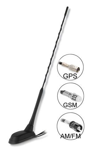Kombinované antény GPS+GSM+AUTORÁDIO