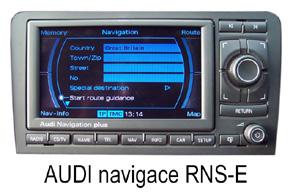 AUX audio vstup pre navig�cie Audi RNS-E