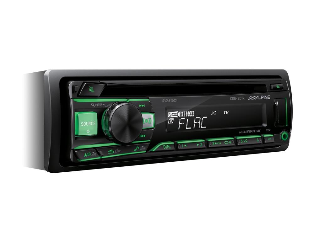ALPINE rádio CDE-201R