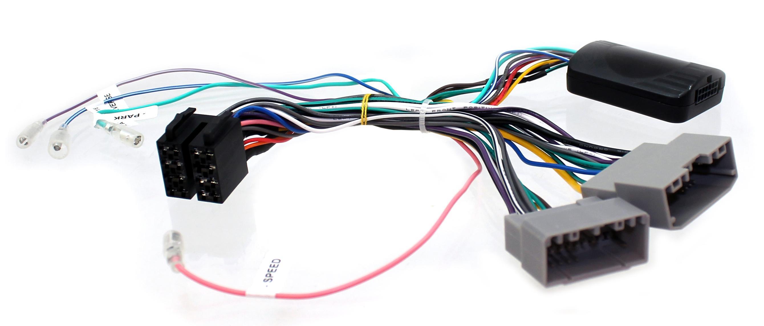 Adaptér ovládania autorádia na volante Chrysler / Dodge / Jeep