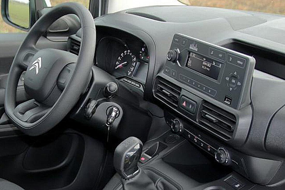 Inštalaèná sada - rámik autorádia CITROEN Berlingo, Peugeot Partner, Opel Combo , Toyota Proace City - 2 DIN