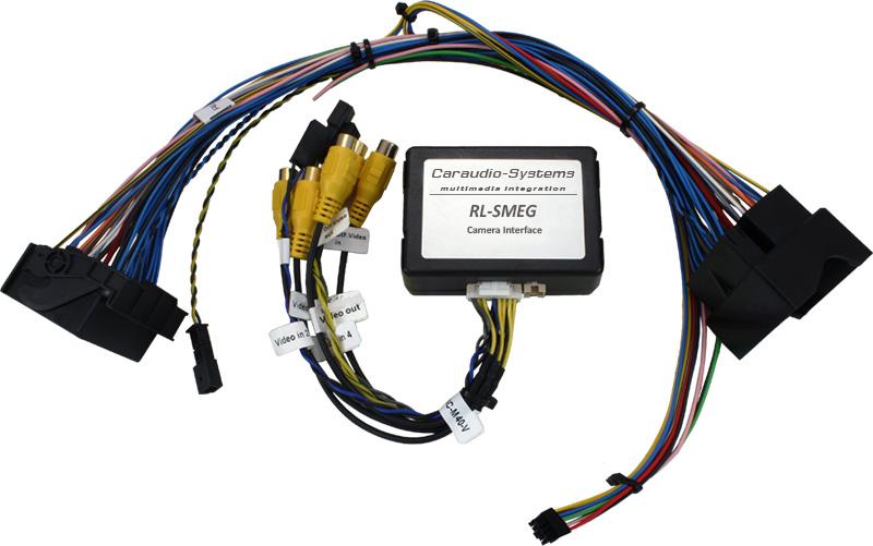 Video adaptér pre parkovaciu kameru Citroen / Peugeot - SMEG+ systém