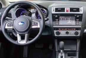 372 706: Plastový rámik autorádia - Subaru Legacy / Outback (15->)