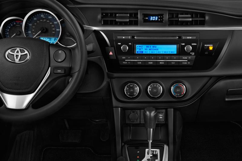 Plastový rámik 1 alebo 2DIN autorádia Toyota Corolla (14->)