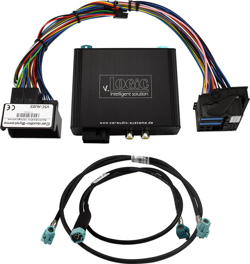 Prevodn�k pre parkovaciu kameru -  Audi MMI 3G/3G+ basic/high