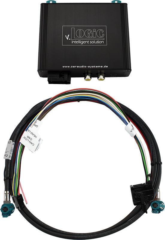 Vstup pre parkovaciu kameru pre BMW F série - NBT navigácia