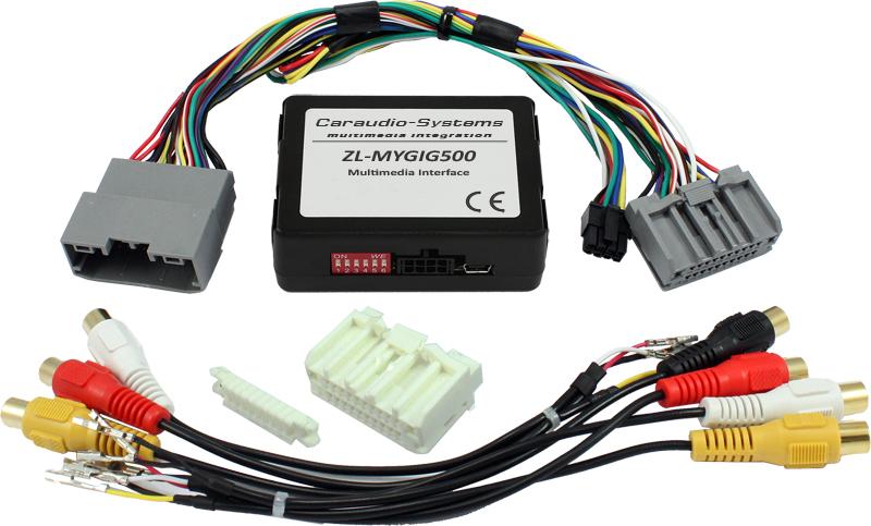 Video adaptér pre parkovaciu kameru Jeep, Dodge, Chrysler - Mygig systém