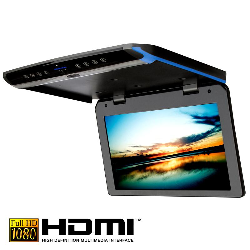 Stropný monitor Ampire OHV156 15.6´´(39,6 cm) s HDMI vstupom