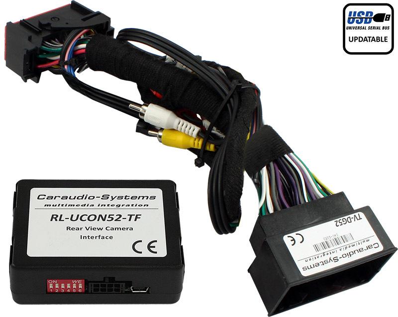 Video adaptér pre parkovaciu kameru Chrysler, Jeep, Dodge so systémom Uconnect