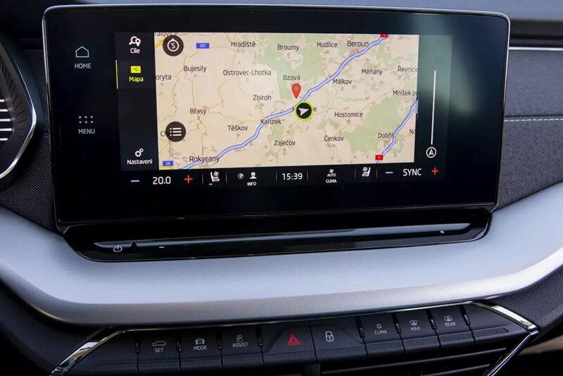 Vstup pre parkovaciu kameru VW / ŠKODA s OEM navigáciou MIB3 (2020->)