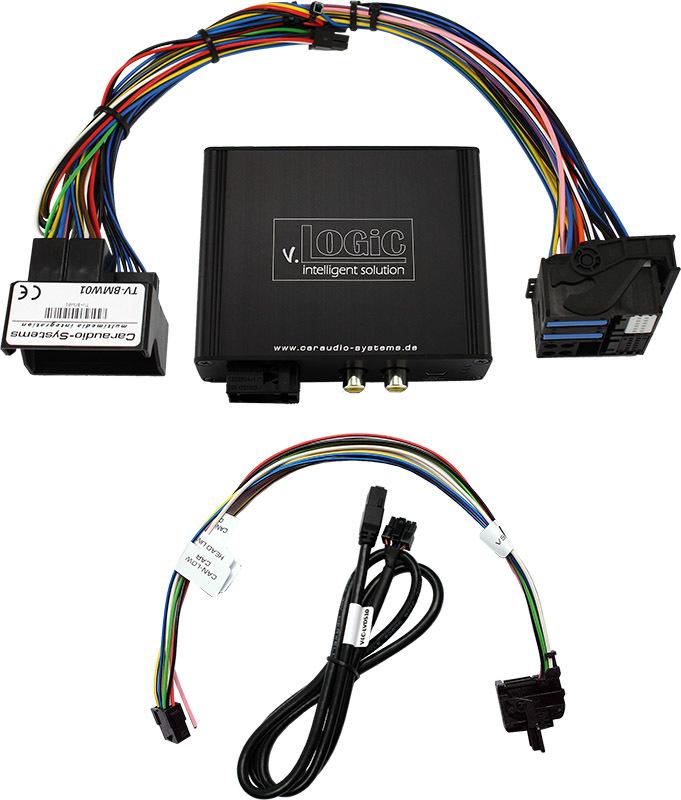 Vstup pre parkovaciu kameru pre BMW X5 / X6 - CCC navigácia