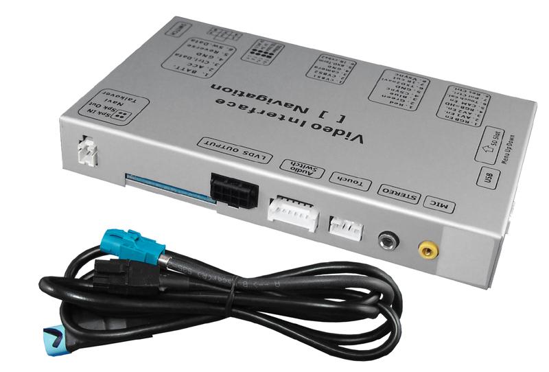 Video adaptér pre pripojenie videa a parkovacej kamery v Audi, VW, Škoda s MIB monitorom