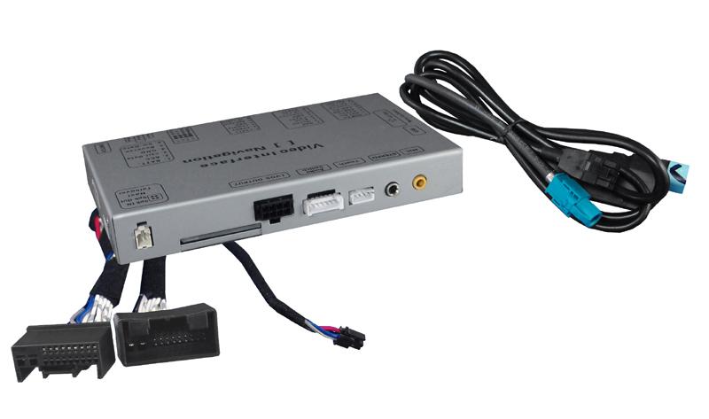 Video adapt�r pre parkovaciu kameru pre  Audi MMI 3G/3G+ low/high a VW s  RNS850.