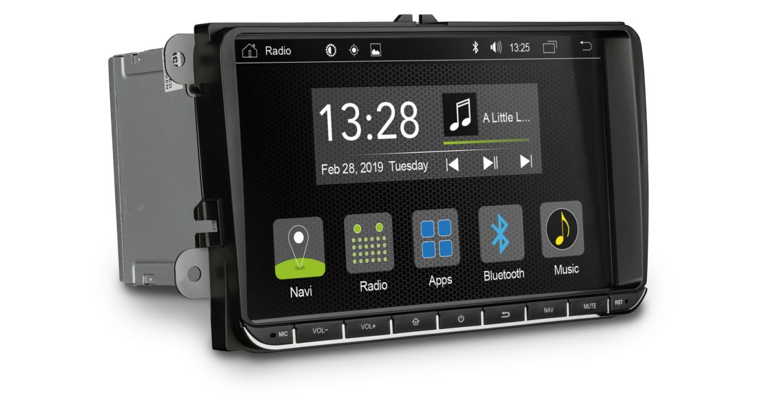 Autorádio GPS  R-C11VW1 VW / Škoda / Seat - navigácia android 9.0