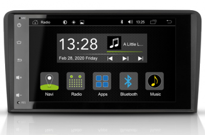 GPS autorádio Zenec pre Audi A3 - R-C11AD1